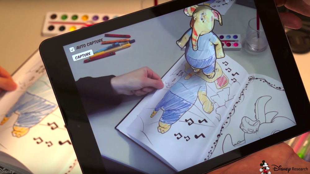 Check This Out Disney Invents Awesome 3D Coloring Book