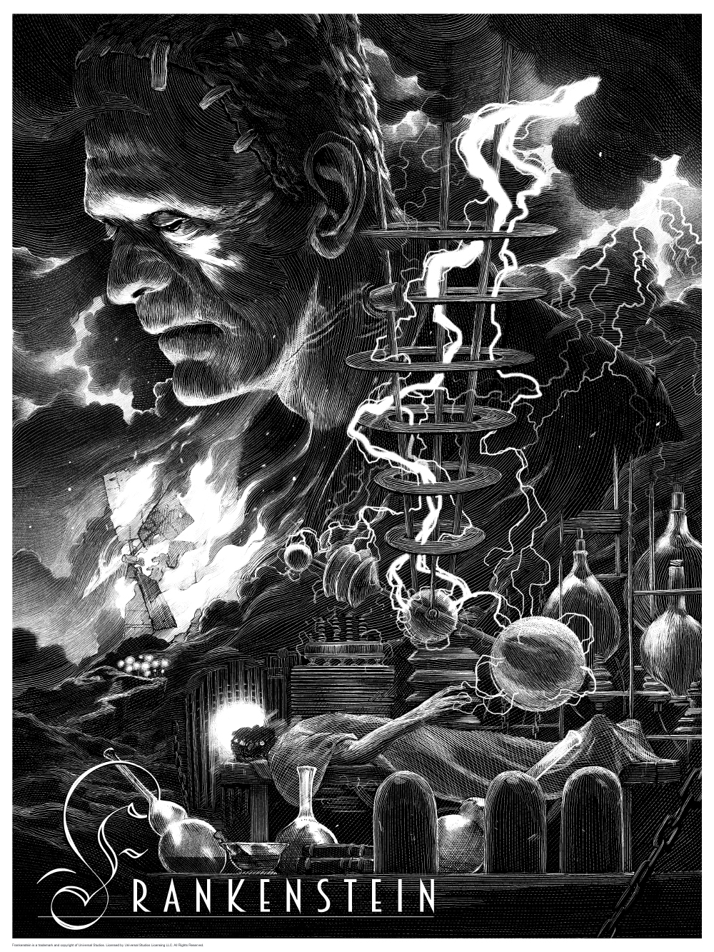Stunning Horror Art Series for the Universal Classic ...