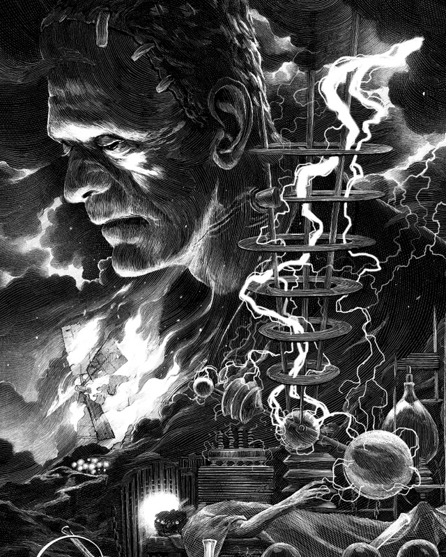 More Stunning Poster Art For Mondos Universal Monster Tribute