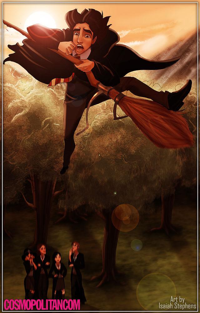 disney characters in hogwarts 02.jpg