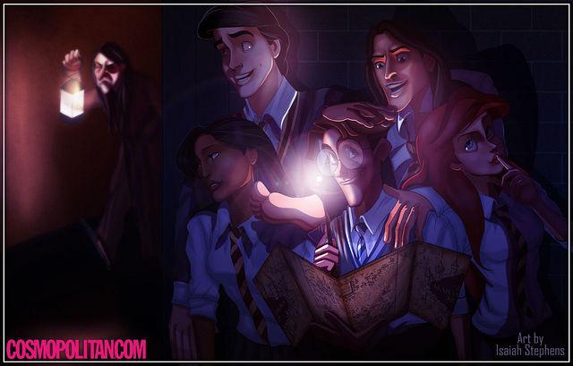 disney characters in hogwarts 09.jpg