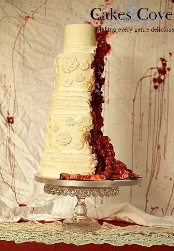 Disgusting Zombie Inspired Cake Is Full Of Bloody Guts Geektyrant