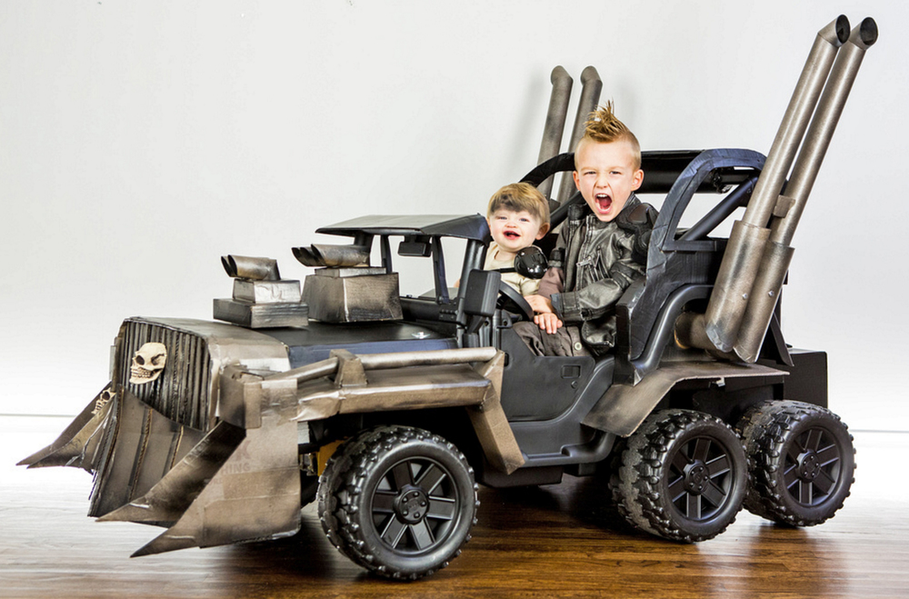 badass mad max power wheels war rig for kids geektyrant. Black Bedroom Furniture Sets. Home Design Ideas