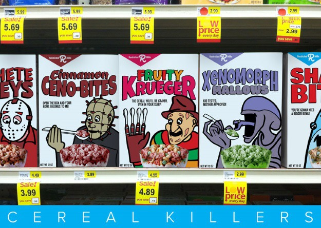 Classic Monster Cereals Reimagined With Modern Movie Monsters ...