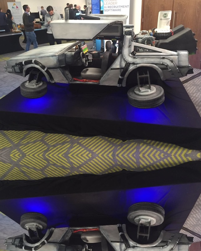 Geek Photo Lifted Delorean With Monster Truck Tires Geektyrant