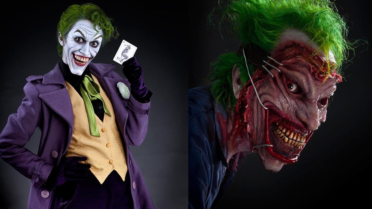 3 incredible joker halloween costume designsoscar-winning makeup