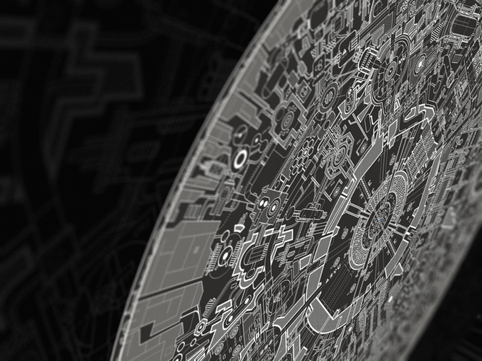 Death Star II The Lost Blueprint Poster GeekTyrant - Death star blueprints