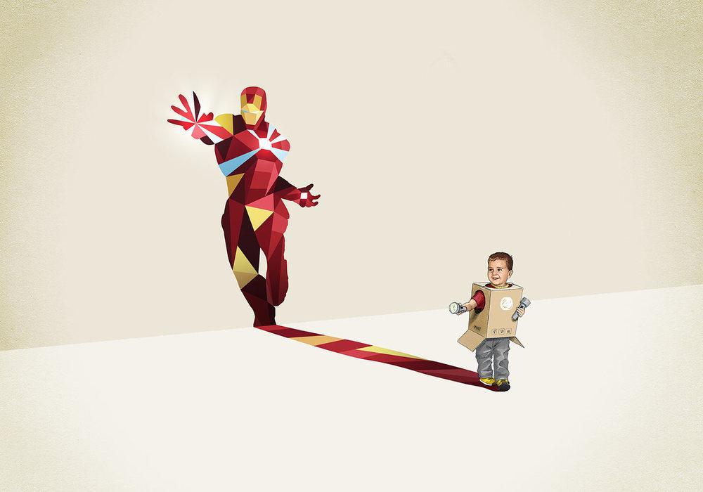 super-shadows-art-series-features-kids-inner-superheroes