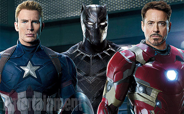 captain america iron man and black panther grace the new cover of