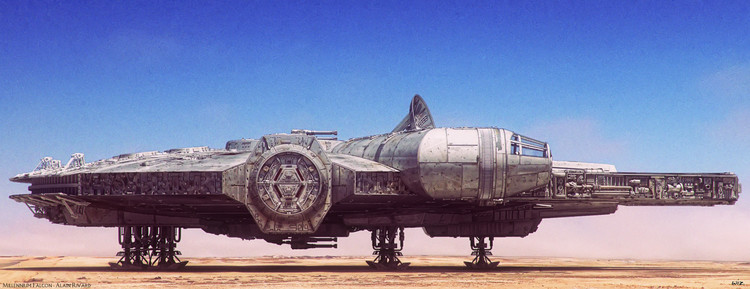 spectacular-millennium-falcon-illustration-by-paul-johnson