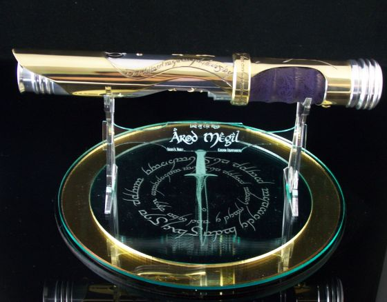 Beautifully Badass Lord Of The Rings Inspired Lightsaber Geektyrant