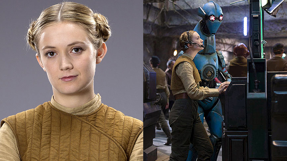 Billie Lourd Rocks Carrie Fisher S Iconic Hairdo In First
