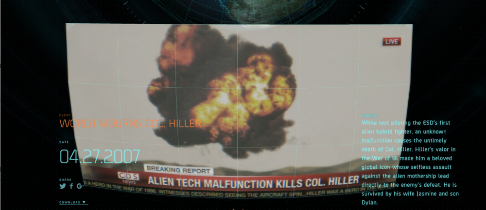 Learn How Will Smith's INDEPENDENCE DAY Character Steven Hiller Was Killed Off