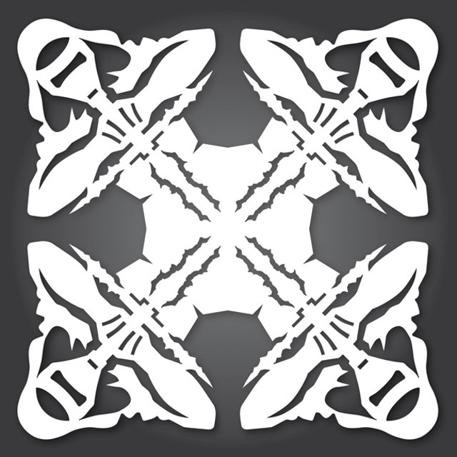 STAR WARS: THE FORCE AWAKENS Cut-Out Paper Snowflake Designs ...