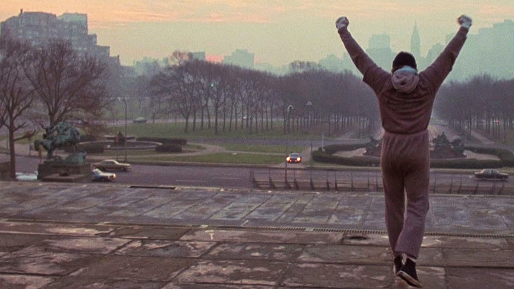 Iconic ROCKY Running Stairs Scene is Awkward Without Music ...