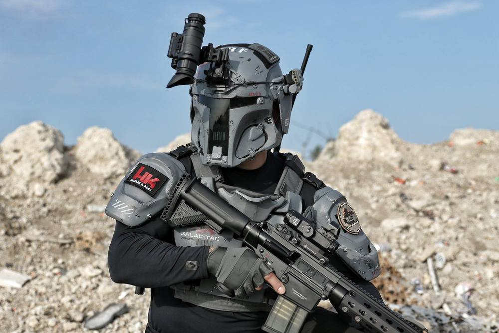 real life military grade boba fett inspired tactical armor geektyrant