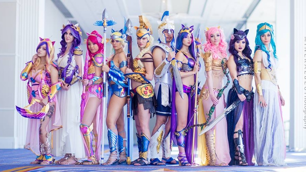 Super Spectacular My Little Pony Warrior Princess Cosplay