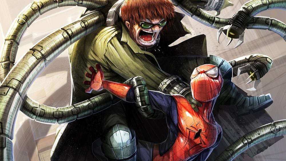 Spider-Man Battles Doc Ock in Fan Art By Davide Tosello ...