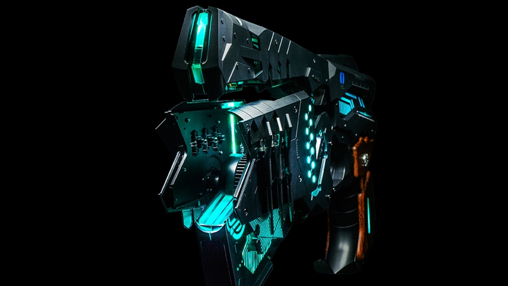 "Real Time 911 >> Badass Transforming ""Dominator"" Replica Gun From Cyberpunk ..."