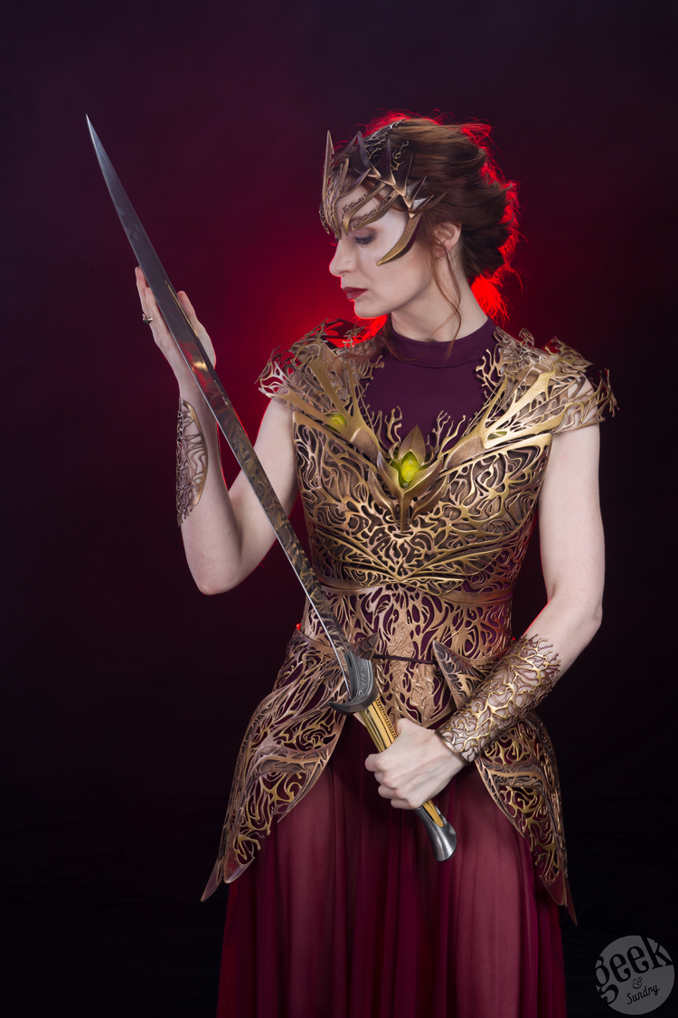 felicia-day-models-insanely-cool-3d-printed-armor