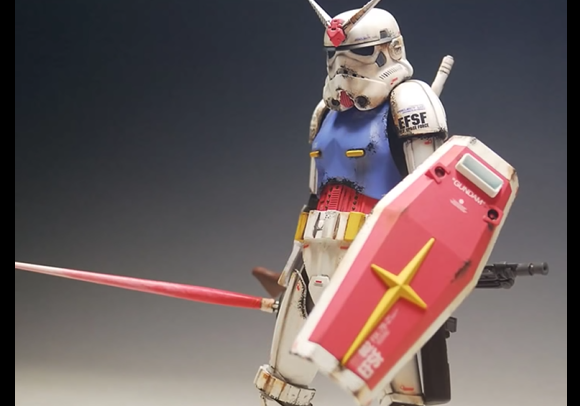 Custom Made Mobile Suit Gundam Stormtrooper Figures
