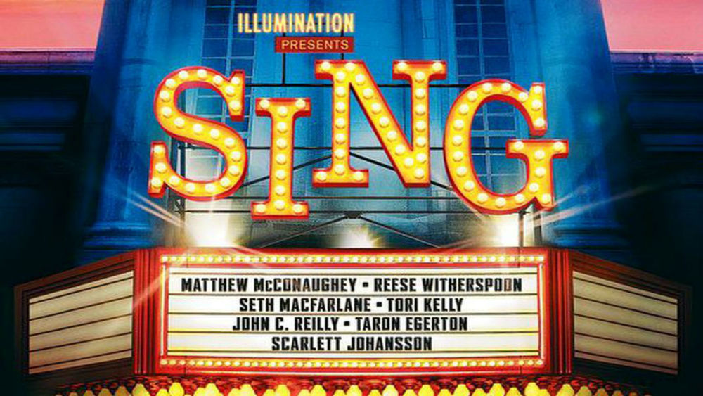 the animated film sing shows some of its talents in five