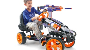 This Nerf Battle Racer Go-Kart Is Loaded with Awesome Firepower!