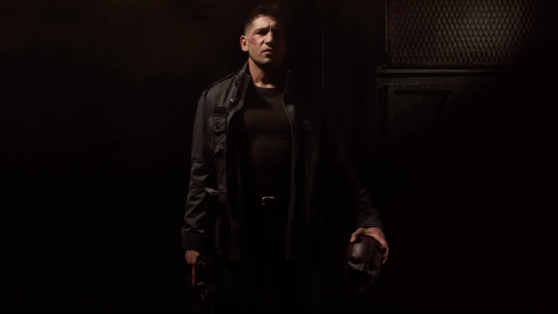 Netflix Has Released A Few New Posters For Season Two Of Daredevil Featuring Jon Bernthal As The Punisher Holding Daredevils Mask Elden Henson Foggy