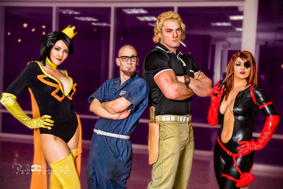 perfectly executed venture bros cosplay geektyrant