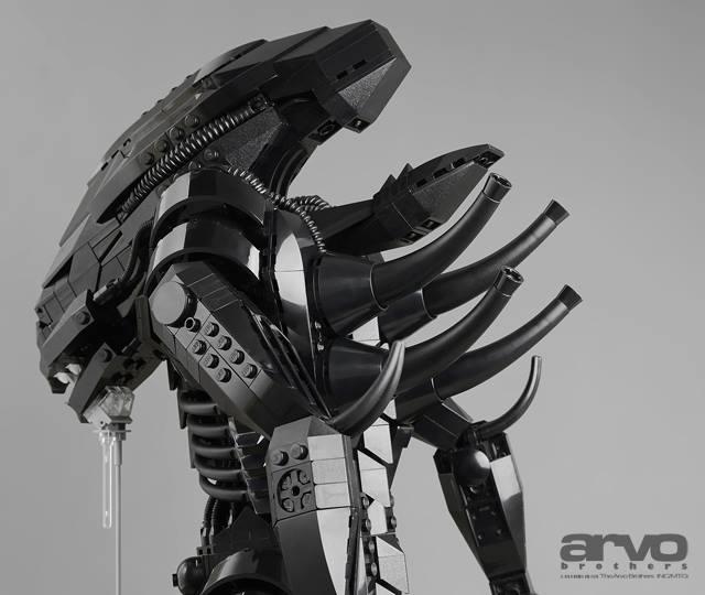 Cool Custom Lego Xenomorph From Alien  U2014 Geektyrant