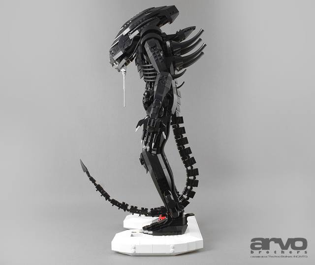 Cool Custom Lego Xenomorph From Alien Geektyrant