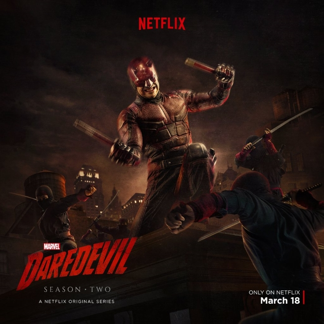 The First Netflix Daredevil Trailer Is Out: DAREDEVIL Battles The Hand In New Image From Marvel's