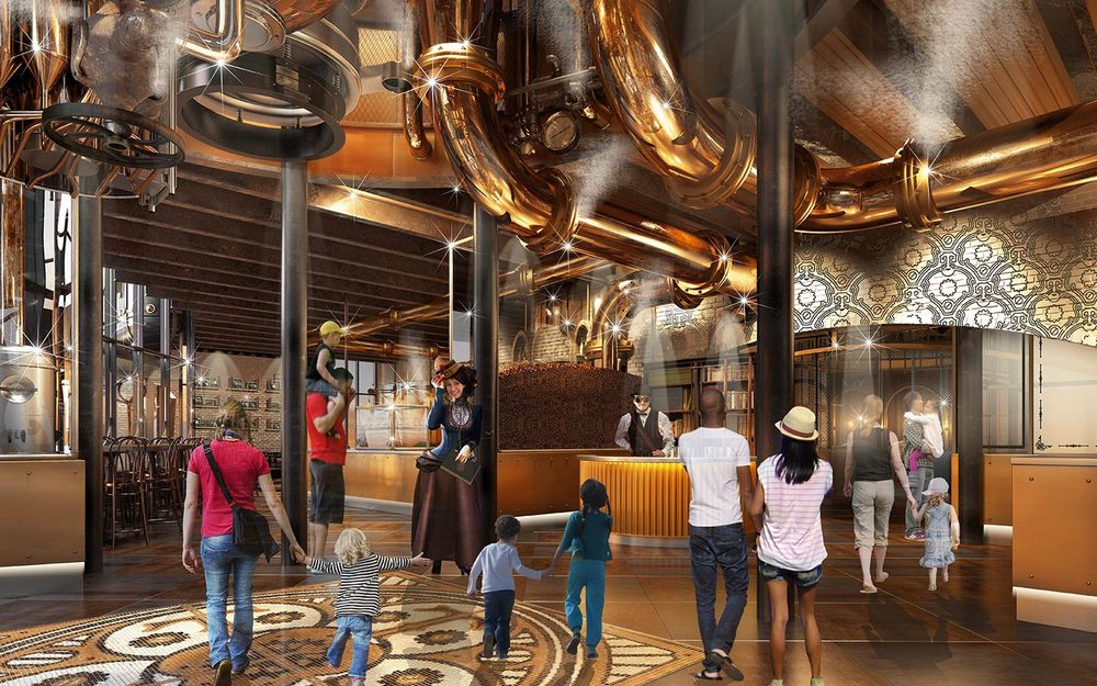 Universal Studios is Building a Willy Wonka-Inspired Chocolate Factory!1