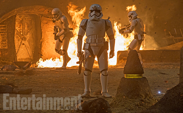 New Deleted Scene Info and Images from STAR WARS: THE FORCE AWAKENS