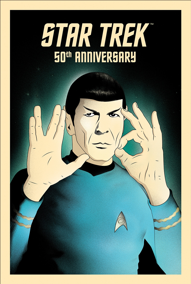 """50 - Live Long and Prosper"" by Rocco Malatesta"
