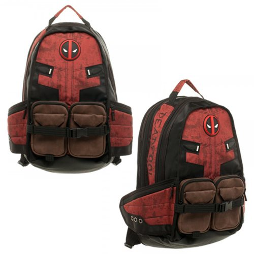 Cool DEADPOOL and CAPTAIN AMERICA-Themed Laptop Backpacks — GeekTyrant