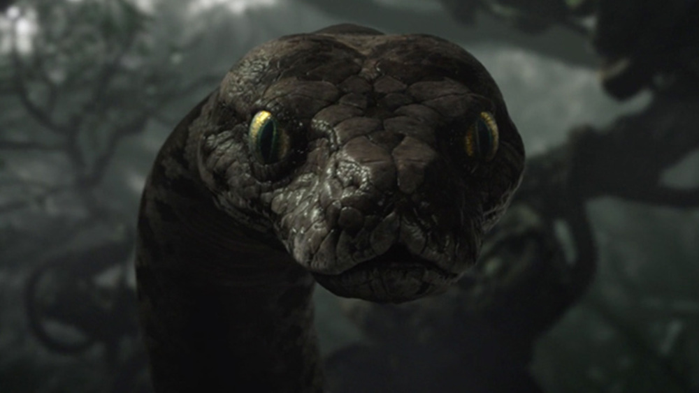 Kaa Reveals Mowgli S Past In New Imax Preview For The