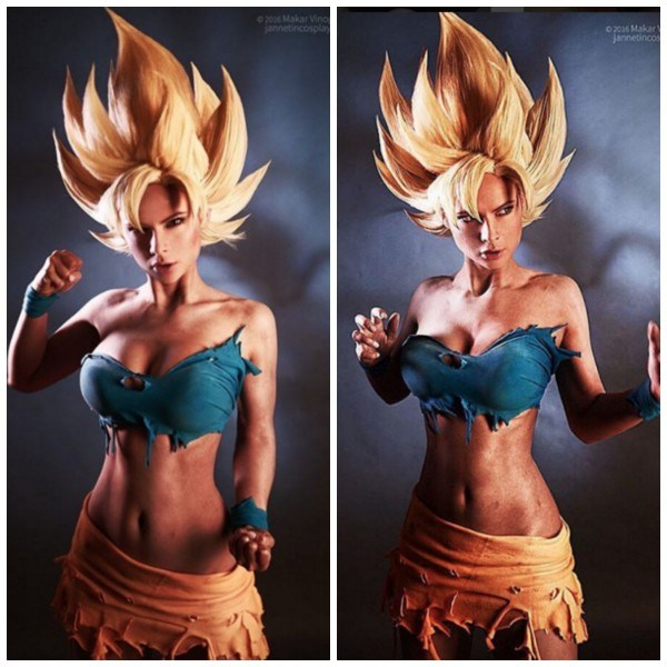 Sexy Dragon Ball Cosplay