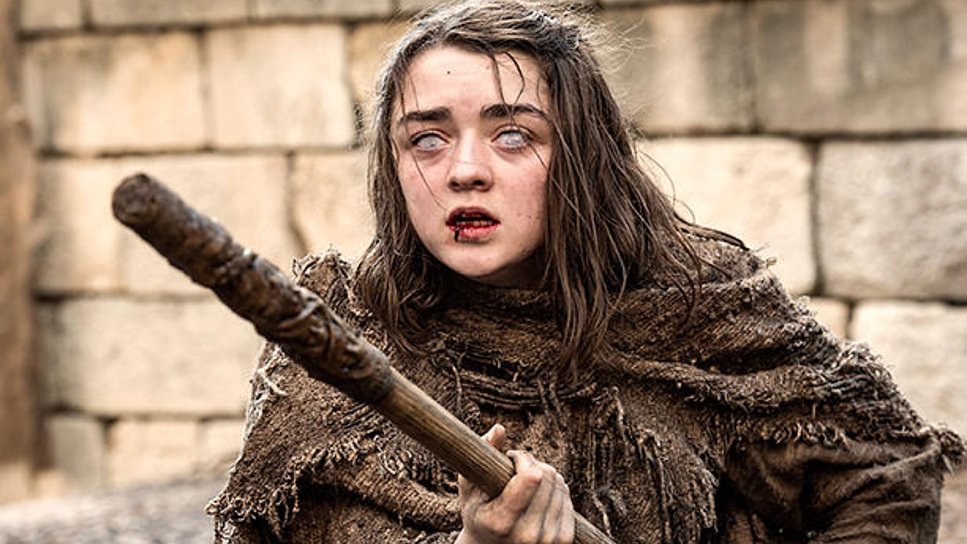 A Brief New Clip Has Been Released From Game Of Thrones Season 6 Called Aryas Blind Training And It Features Arya Stark Maisie Williams Who Is Put In