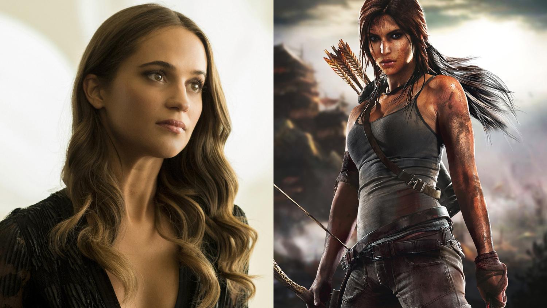 fc1d6f5073d73e Alicia Vikander is Lara Croft in TOMB RAIDER Reboot — GeekTyrant