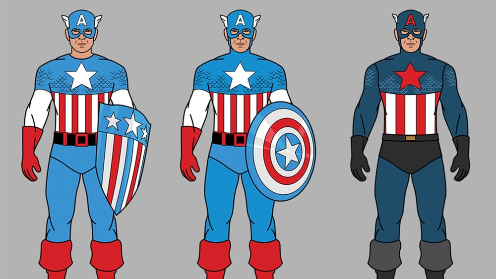 Iu0027ve got an infographic here for all you Captain America fans that shows us the evolution of Capu0027s costume over the past 75 years in comics and film.  sc 1 st  GeekTyrant & The Evolution of Captain Americau0027s Costume in Comics and Film ...