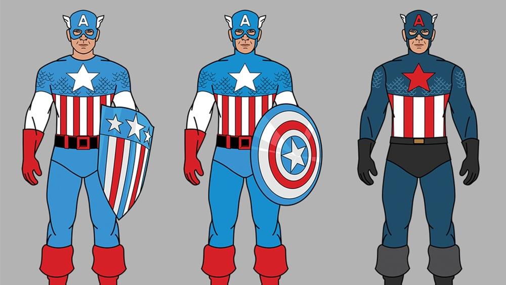 Captain America: The Costume and Its Description