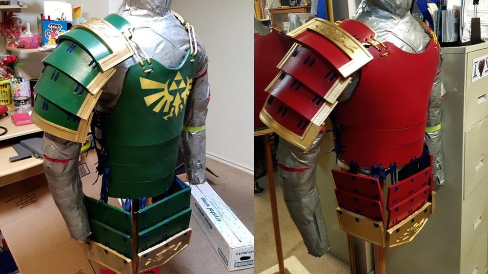 Samurai Armor Inspired By The Legend Of Zelda And Sanada