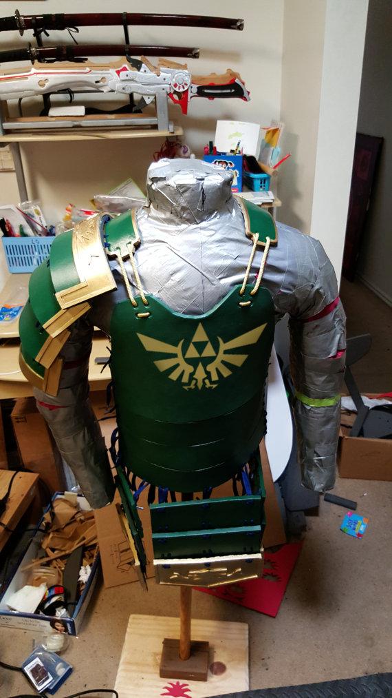 Samurai Armor Inspired By The Legend Of Zelda And Sanada Yukimura