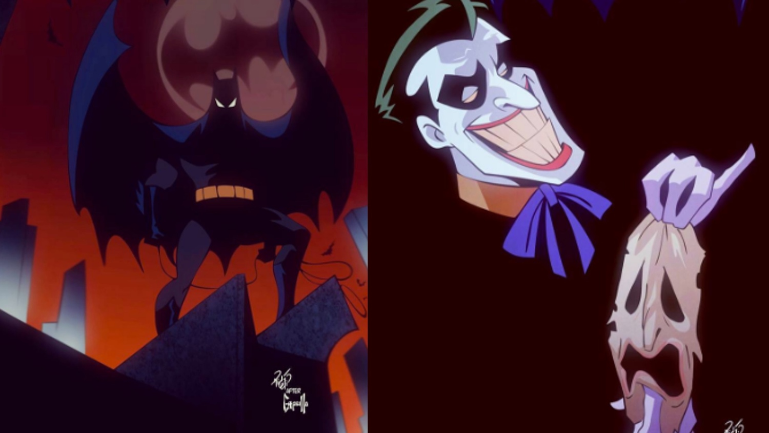 Cool Early Character Designs For BATMAN: THE ANIMATED SERIES