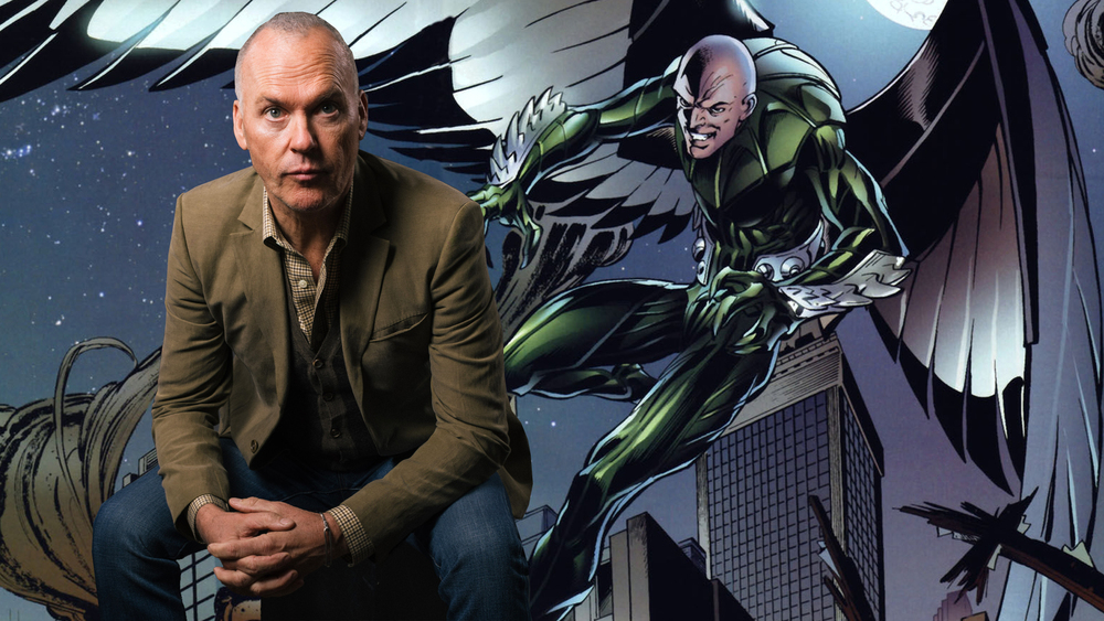 Michael Keaton Really Flies as The Vulture