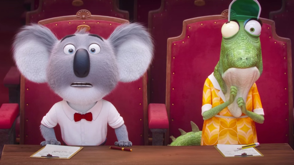 fun trailer for the animated musical sing with matthew