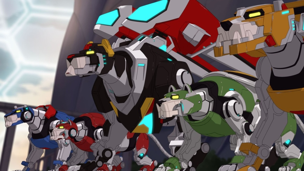 review  netflix u2019s voltron  legendary defender awesomely