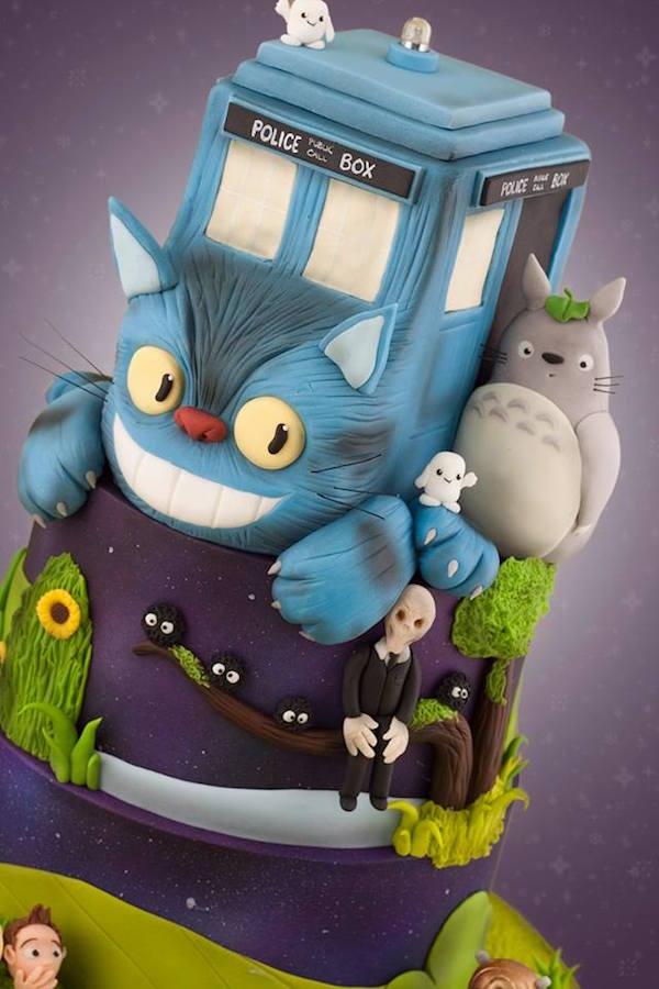 my-neighbor-totoro-and-doctor-who-mashup-cake-design-my-neighbor-doctoro2