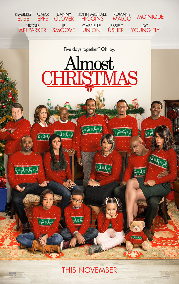ALMOST CHRISTMAS Trailer: Danny Glover is Too Old For This Sh*t ...